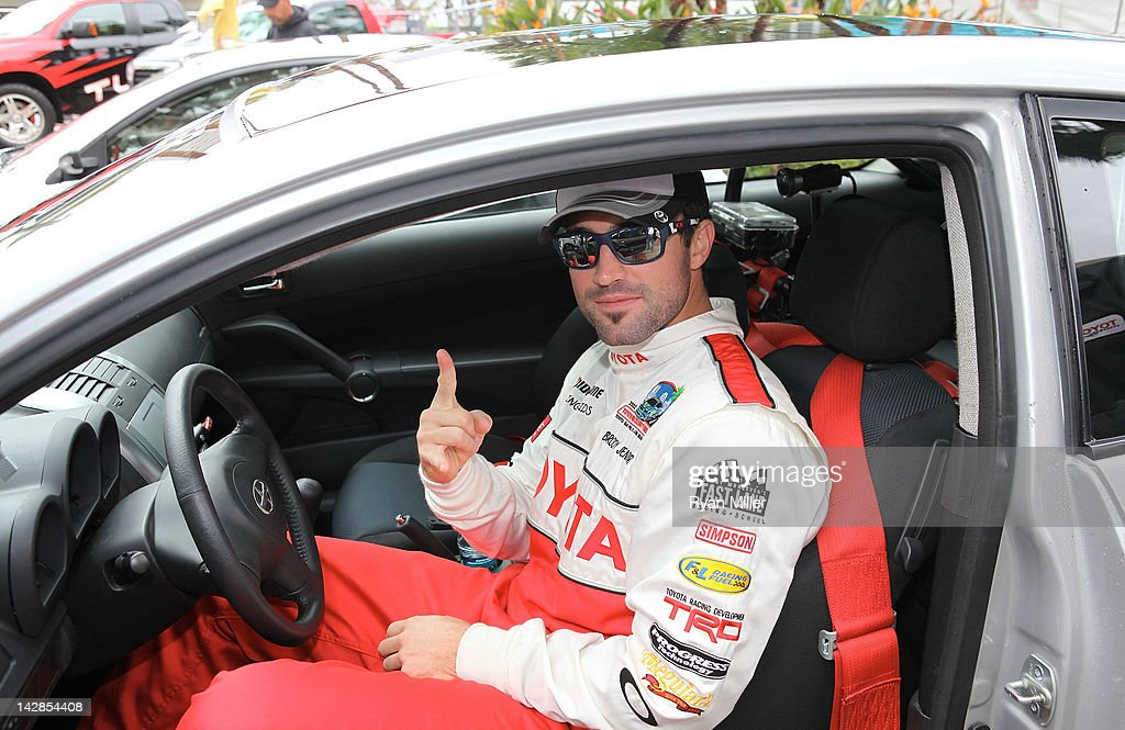 Actor Brody Jenner poses during the 36th Annual Toyota Pro/Celebrity Race - Press Practice Day of the Toyota Grand Prix of Long Beach on April 13, 2012 in Long Beach, California.