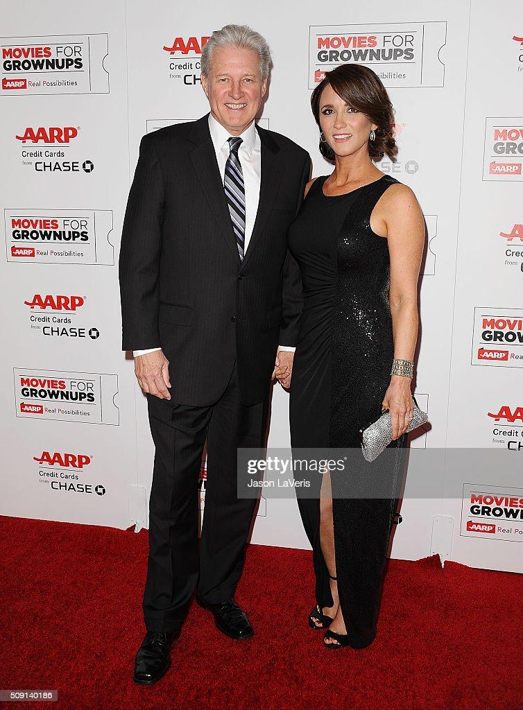 Actor <a gi-track='captionPersonalityLinkClicked' href=/galleries/search?phrase=Bruce+Boxleitner&family=editorial&specificpeople=221415 ng-click='$event.stopPropagation()'>Bruce Boxleitner</a> and fiance Verena King attend the 15th annual Movies For Grownups Awards at the Beverly Wilshire Four Seasons Hotel on February 8, 2016 in Beverly Hills, California.