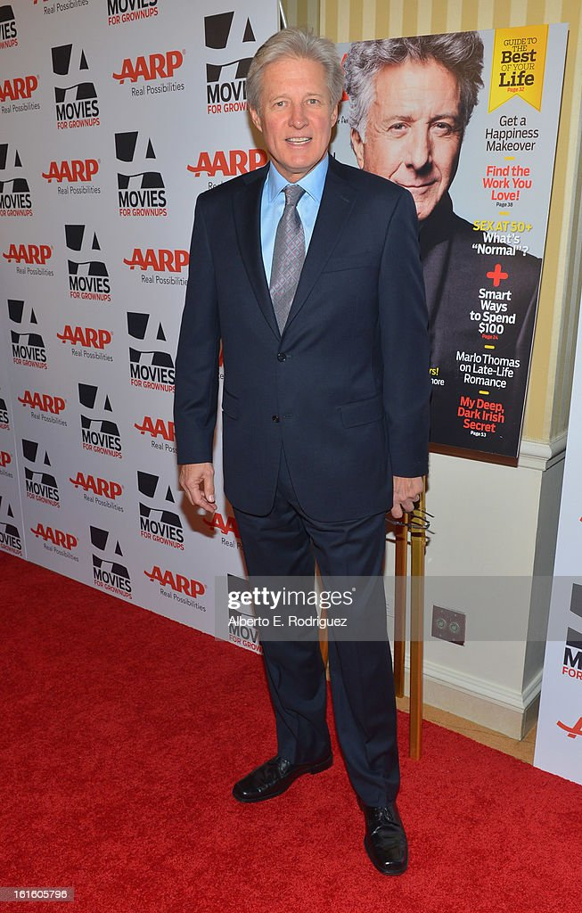 Actor <a gi-track='captionPersonalityLinkClicked' href=/galleries/search?phrase=Bruce+Boxleitner&family=editorial&specificpeople=221415 ng-click='$event.stopPropagation()'>Bruce Boxleitner</a> arrives to AARP The Magazine's 12th Annual Movies for Grownups Awards Luncheon at Peninsula Hotel on February 12, 2013 in Beverly Hills, California.