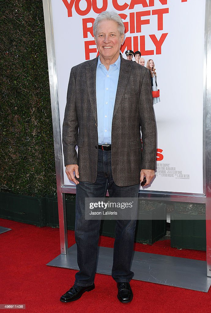 Actor <a gi-track='captionPersonalityLinkClicked' href=/galleries/search?phrase=Bruce+Boxleitner&family=editorial&specificpeople=221415 ng-click='$event.stopPropagation()'>Bruce Boxleitner</a> attends the premiere of 'Love The Coopers' at Park Plaza on November 12, 2015 in Los Angeles, California.