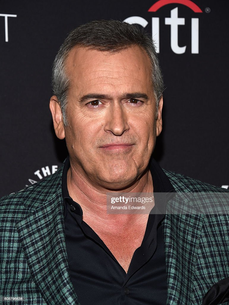 Actor Bruce Campbell arrives at The Paley Center for Media's PaleyFest 2016 Fall TV Preview for STARZ at The Paley Center for Media on September 14, 2016 in Beverly Hills, California.