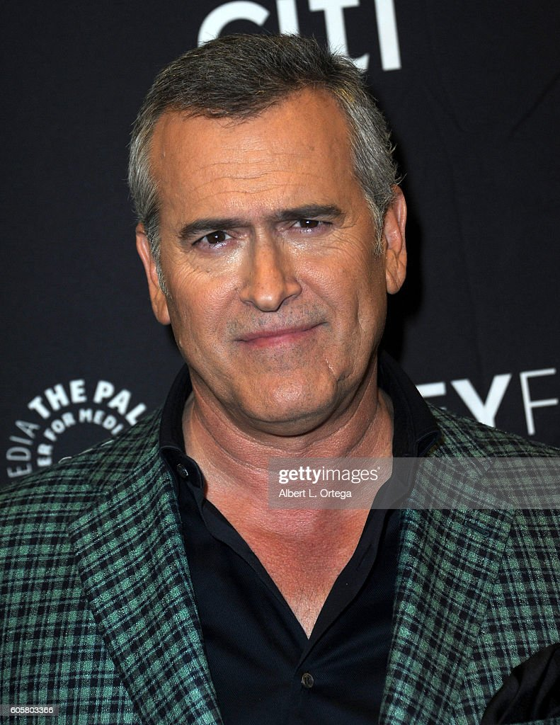 Actor Bruce Campbell at the The Paley Center For Media's PaleyFest 2016 Fall TV Preview - STARZ's 'Ash Vs. Evil Dead' held at The Paley Center for Media on September 14, 2016 in Beverly Hills, California.