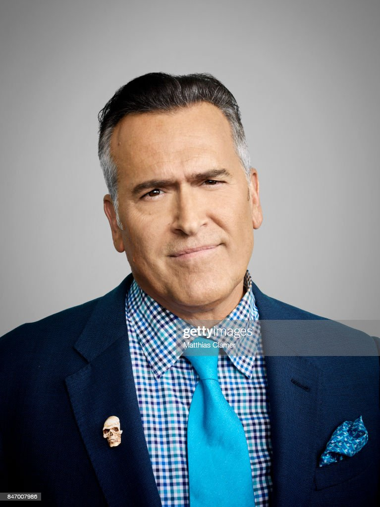 Actor Bruce Campbell from 'Ash vs. Evil Dead' is photographed for Entertainment Weekly Magazine on July 22, 2016 at Comic Con in the Hard Rock Hotel in San Diego, California.