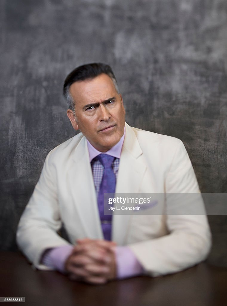 Actor Bruce Campbell of 'Ash vs Evil Dead' is photographed for Los Angeles Times at San Diego Comic Con on July 22, 2016 in San Diego, California.