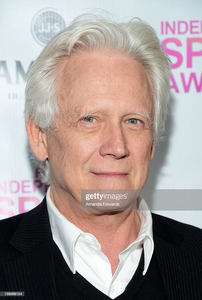 Actor <a gi-track='captionPersonalityLinkClicked' href=/galleries/search?phrase=Bruce+Davison&family=editorial&specificpeople=682670 ng-click='$event.stopPropagation()'>Bruce Davison</a> arrives at the 2013 Film Independent Filmmaker Grant And Spirit Awards Nominees Brunch at BOA Steakhouse on January 12, 2013 in West Hollywood, California.