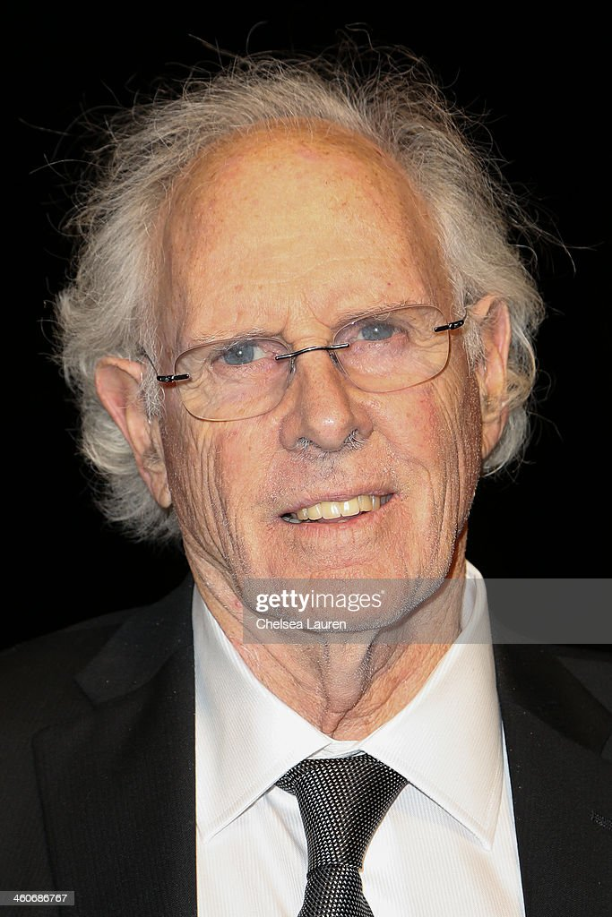 Actor <a gi-track='captionPersonalityLinkClicked' href=/galleries/search?phrase=Bruce+Dern&family=editorial&specificpeople=239171 ng-click='$event.stopPropagation()'>Bruce Dern</a> arrives in style during the Mercedes-Benz arrivals at the 25th Annual Palm Springs International Film Festival Awards Gala onJanuary 4, 2014 in Palm Springs, California.