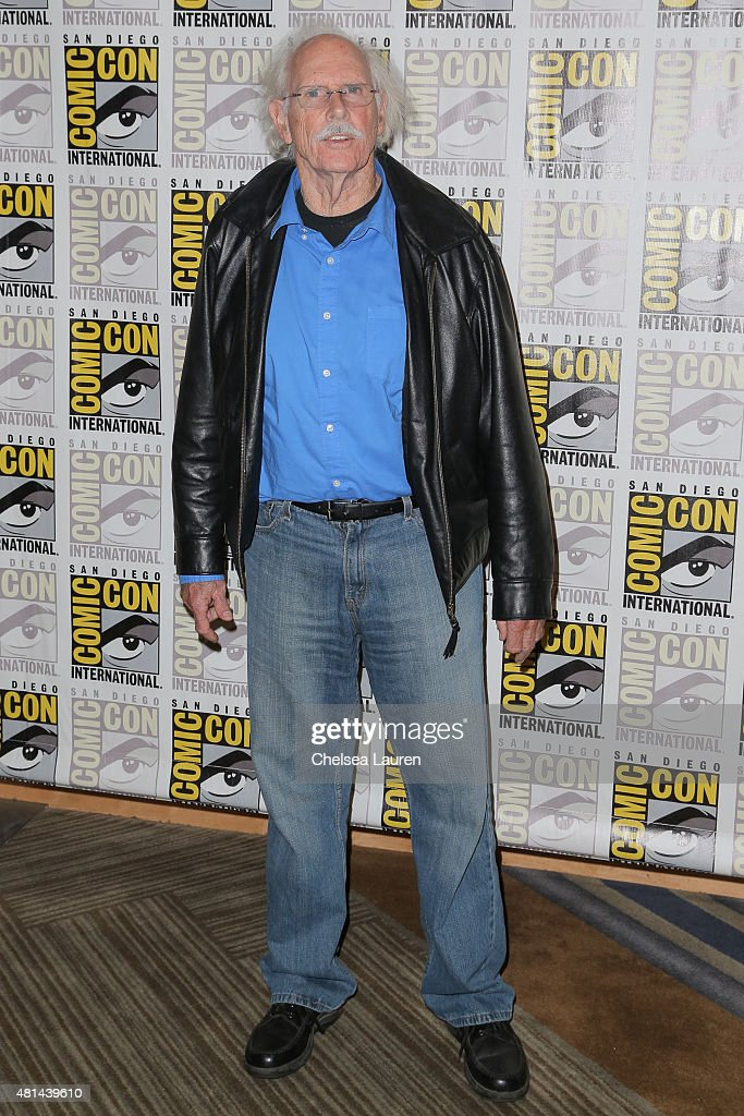 Actor Bruce Dern attends 'The Hateful Eight' press room on July 11, 2015 in San Diego, California.