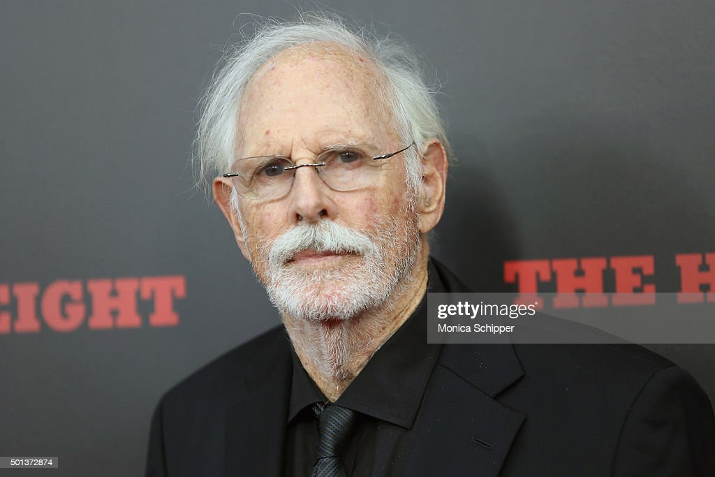 Actor Bruce Dern attends the The New York Premiere Of 'The Hateful Eight' on December 14, 2015 in New York City.