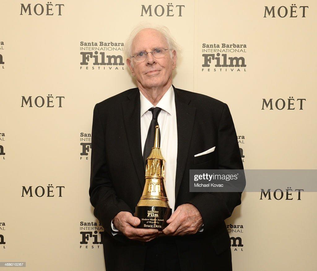The Moet & Chandon Lounge At The Santa Barbara International Film Festival Honoring Bruce Dern
