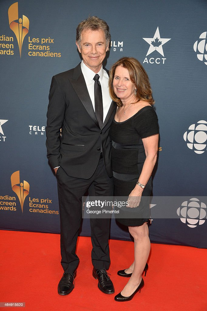 Actor Bruce Greenwood and wife, Susan Devlin arrive at the 2015 Canadian Screen Awards at the Four Seasons Centre for the Performing Arts on March 1, 2015 in Toronto, Canada.