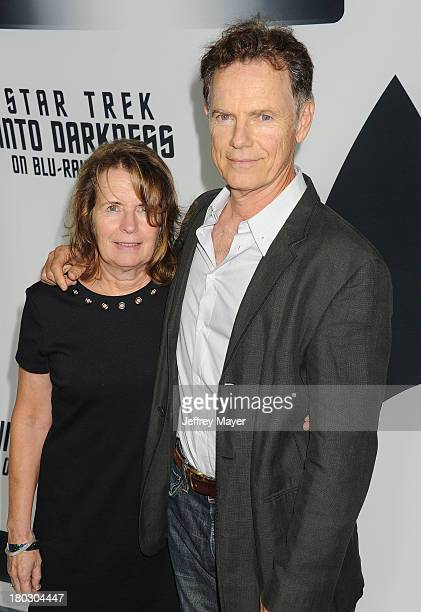 Actor Bruce Greenwood and wife Susan Devlin attend the Paramount Pictures' celebration of the BluRay and DVD debut of 'Star Trek Into Darkness' at...