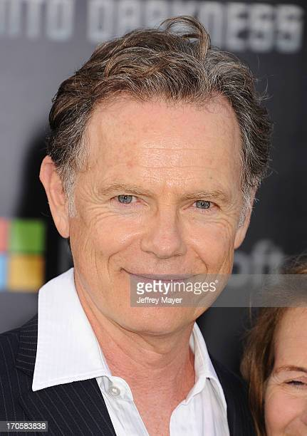 Actor Bruce Greenwood arrives at the Los Angeles premiere of 'Star Trek Into Darkness' at Dolby Theatre on May 14 2013 in Hollywood California