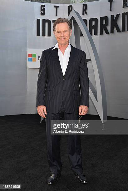 Actor Bruce Greenwood arrives at the premiere of Paramount Pictures' 'Star Trek Into Darkness' at Dolby Theatre on May 14 2013 in Hollywood California