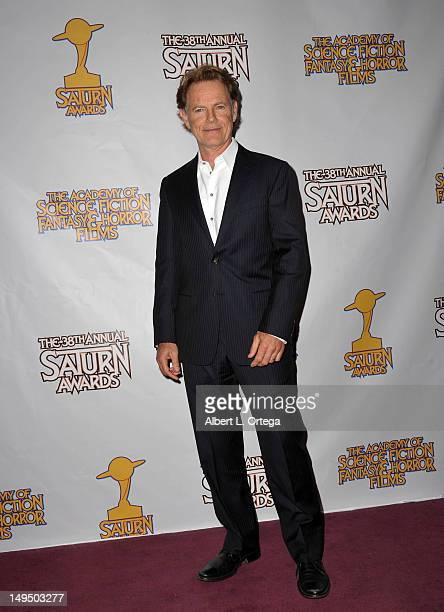 Actor Bruce Greenwood at the 38th Annual Saturn Awards inside the press room held at Castaways on July 26 2012 in Burbank California