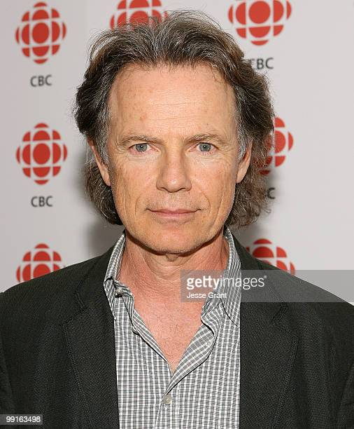 Actor Bruce Greenwood attends a cocktail party hosted by The Canadian Broadcasting Corporation and The Consulate General of Canada at the Andaz Hotel...