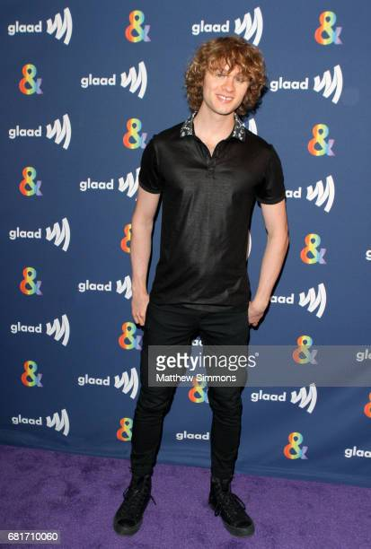Actor Bruce Langley attends STARZ's Presents A Special Screening Of 'American Gods' In Partnership With GLAAD at The Paley Center for Media on May 10...