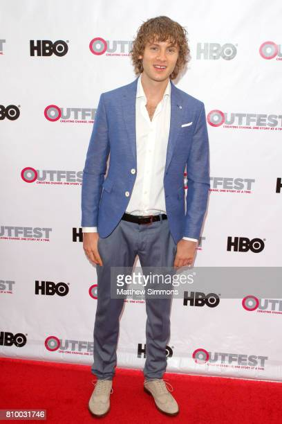 Actor Bruce Langley attends the opening night gala of 'God's Own Country' at the 2017 Outfest Los Angeles LGBT Film Festival at Orpheum Theatre on...