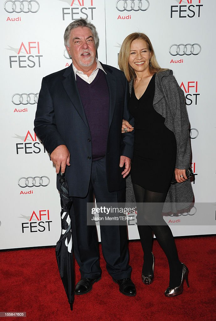 Actor <a gi-track='captionPersonalityLinkClicked' href=/galleries/search?phrase=Bruce+McGill&family=editorial&specificpeople=2210745 ng-click='$event.stopPropagation()'>Bruce McGill</a> and wife Gloria Lee arrive at the 'Lincoln' premiere during AFI Fest 2012 presented by Audi at Grauman's Chinese Theatre on November 8, 2012 in Hollywood, California.