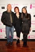 Actor Bruce Willis Actresses Rumer Willis and Demi Moore attend the 'Love Loss What I Wore' new cast member celebration at B Smith's Restaurant on...