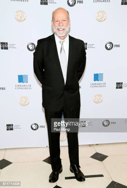 Actor Bruce Willis arrives at the Gershwin Prize Honoree's Tribute Concert at DAR Constitution Hall on November 15 2017 in Washington DC