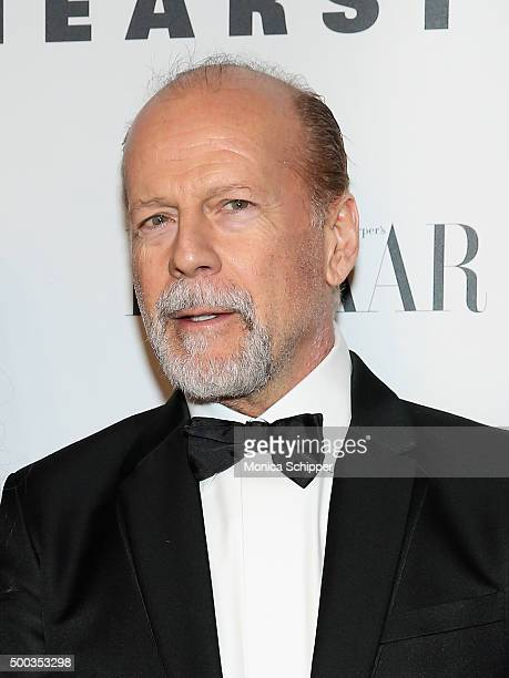 Actor Bruce Willis attends 'An Evening Honoring Valentino' Lincoln Center Corporate Fund Gala Inside Arrivals at Alice Tully Hall at Lincoln Center...