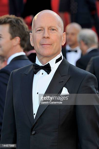Actor Bruce Willis attends opening ceremony and 'Moonrise Kingdom' premiere during the 65th Annual Cannes Film Festival at Palais des Festivals on...