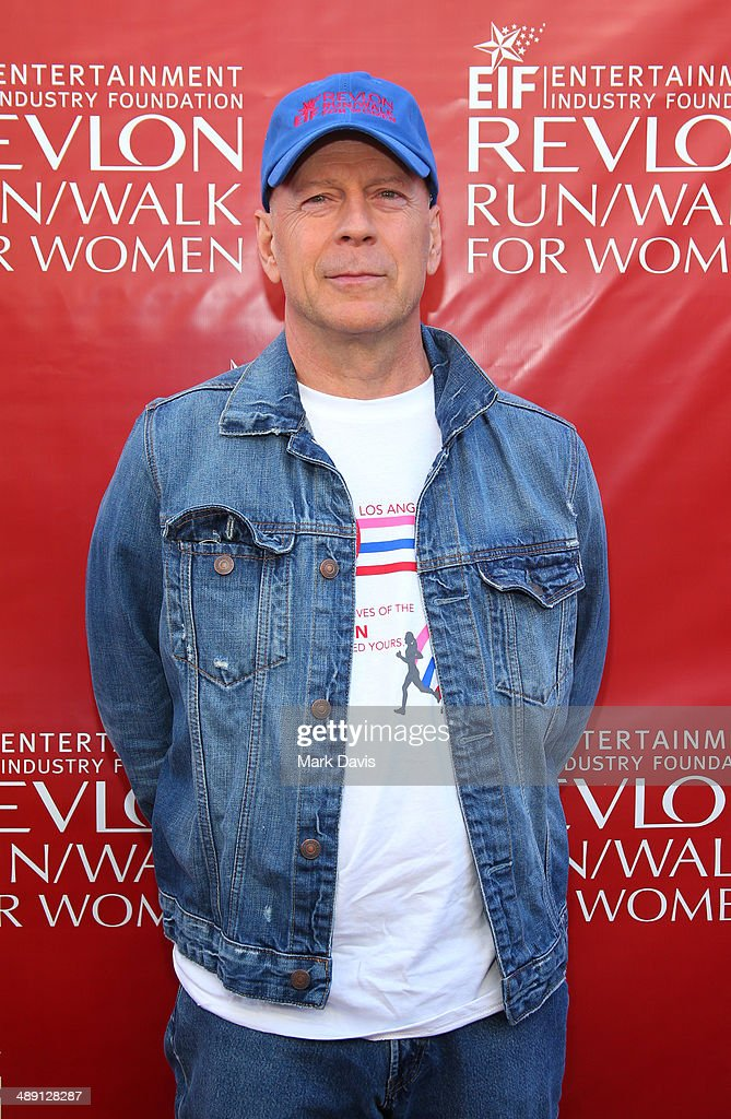 Actor <a gi-track='captionPersonalityLinkClicked' href=/galleries/search?phrase=Bruce+Willis&family=editorial&specificpeople=202185 ng-click='$event.stopPropagation()'>Bruce Willis</a> attends the 21st Annual EIF Revlon Run Walk For Women at Los Angeles Memorial Coliseum on May 10, 2014 in Los Angeles, California.