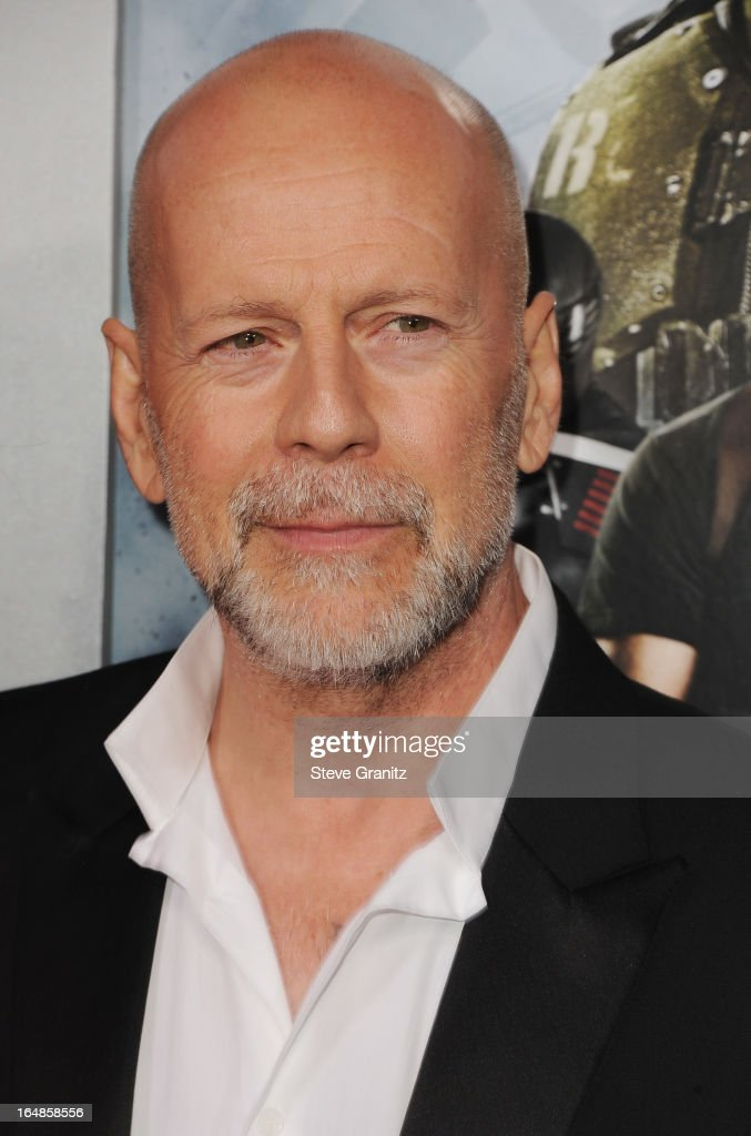 Actor Bruce Willis attends the 'G.I. Joe: Retaliation' Los Angeles Premiere at TCL Chinese Theatre on March 28, 2013 in Hollywood, California.