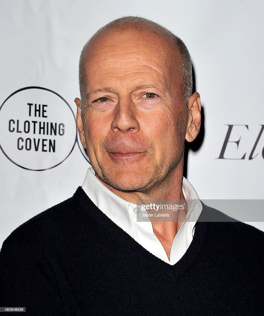 Actor <a gi-track='captionPersonalityLinkClicked' href=/galleries/search?phrase=Bruce+Willis&family=editorial&specificpeople=202185 ng-click='$event.stopPropagation()'>Bruce Willis</a> attends the launch of 'The Clothing Coven' at Elodie K. on April 4, 2014 in West Hollywood, California.