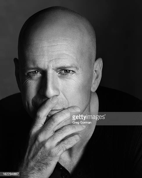 Actor Bruce Willis is photographed for Self Assignment on July 10 2006 in Los Angeles California
