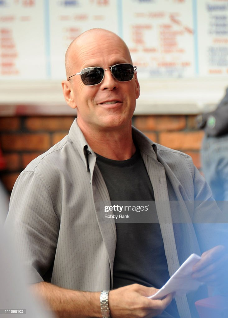 Mesmerizing On Location For With Goodlooking Actor Bruce Willis On Location For A Couple Of Dicks At Lbs Spumoni  Gardens With Cool Covent Garden Parking Also Contemporary Garden Design In Addition Plants For A Winter Garden And Headland Garden Polruan As Well As Screat Garden Additionally Raised Bed Vegetable Garden Layout Plans From Gettyimagescom With   Goodlooking On Location For With Cool Actor Bruce Willis On Location For A Couple Of Dicks At Lbs Spumoni  Gardens And Mesmerizing Covent Garden Parking Also Contemporary Garden Design In Addition Plants For A Winter Garden From Gettyimagescom