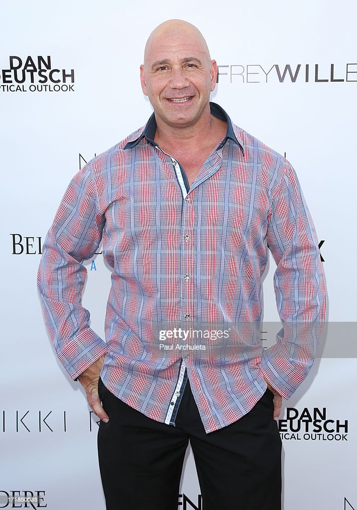 Actor Bruno Amato attends the Genlux Magazine summer issue release party at the Luxe Rodeo Drive Hotel on June 28, 2013 in Beverly Hills, California.