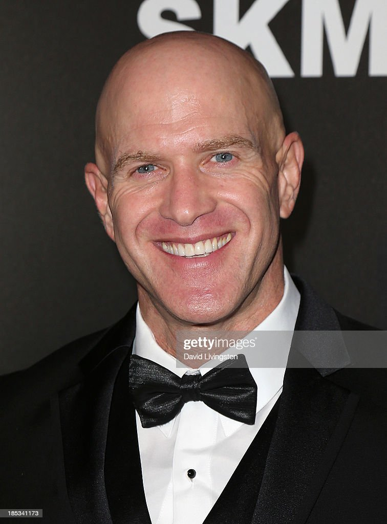 Actor Bruno Gunn attends the launch of the Redlight Traffic app at the Dignity Gala at The Beverly Hilton Hotel on October 18, 2013 in Beverly Hills, California.