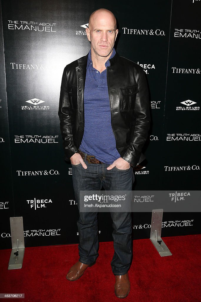 Actor <a gi-track='captionPersonalityLinkClicked' href=/galleries/search?phrase=Bruno+Gunn&family=editorial&specificpeople=9666035 ng-click='$event.stopPropagation()'>Bruno Gunn</a> attends the premiere of Tribeca Film and Well Go USA's 'The Truth About Emanuel' at ArcLight Hollywood on December 4, 2013 in Hollywood, California.