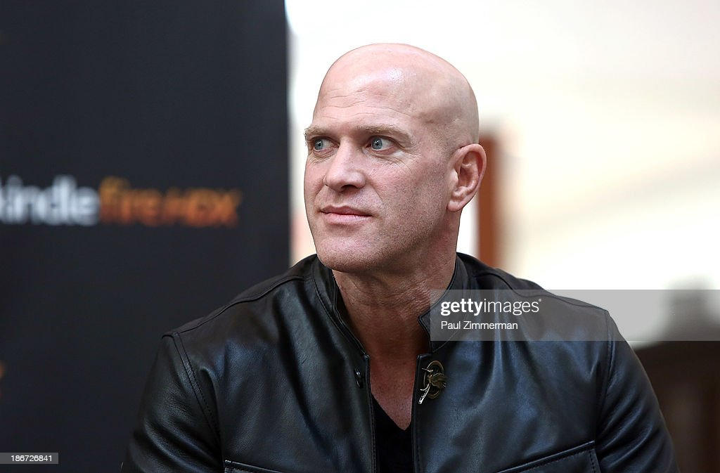 Actor Bruno Gunn attends the 'The Hunger Games: Catching Fire' mall tour at Cherry Hill Mall on November 3, 2013 in Cherry Hill, New Jersey.