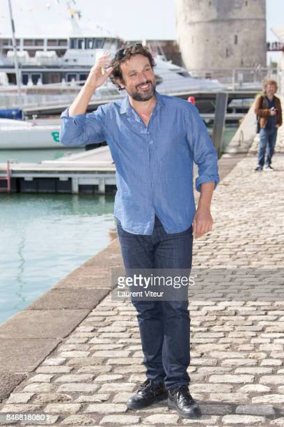 Actor Bruno Salomone attends 'Mention Particuliere' Photocall during 19th Festival Of TV Fiction on September 14 2017 in La Rochelle France