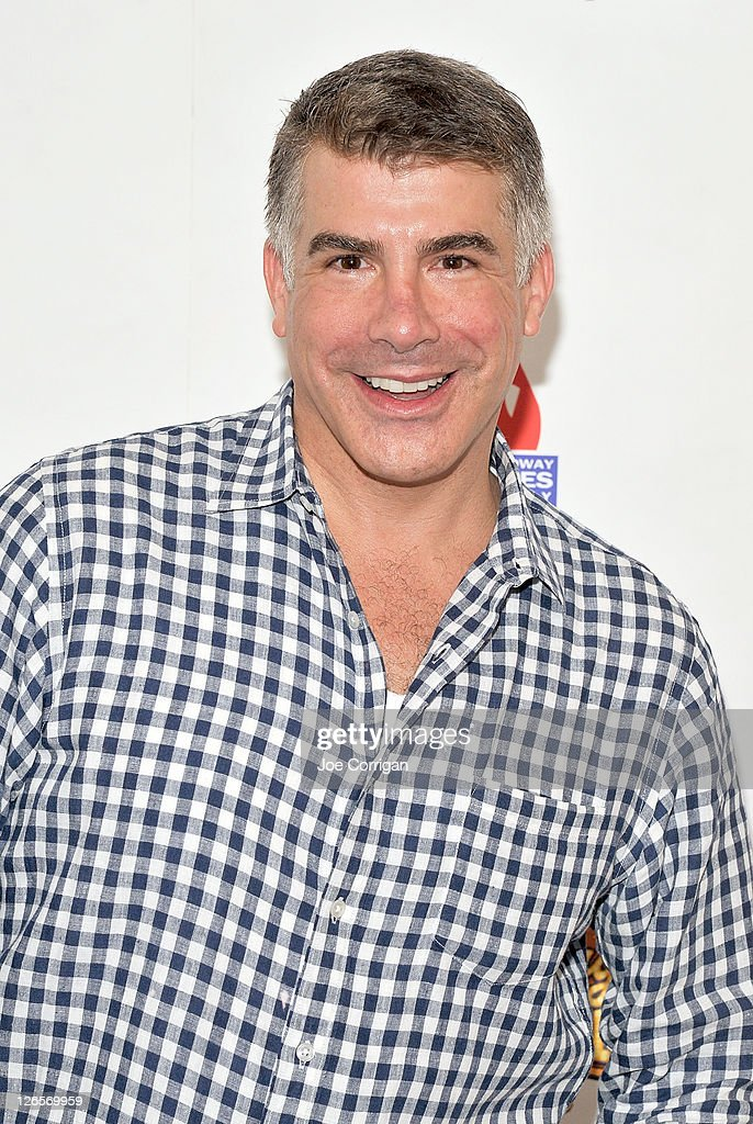 Actor <a gi-track='captionPersonalityLinkClicked' href=/galleries/search?phrase=Bryan+Batt&family=editorial&specificpeople=672216 ng-click='$event.stopPropagation()'>Bryan Batt</a> attends the 25th annual Broadway Flea Market at The Bernard B. Jacobs Theatre on September 25, 2011 in New York City.