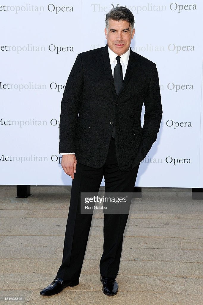 Actor Bryan Batt attends the Metropolitan Opera season opening production of 'Eugene Onegin' at The Metropolitan Opera House on September 23, 2013 in New York City.
