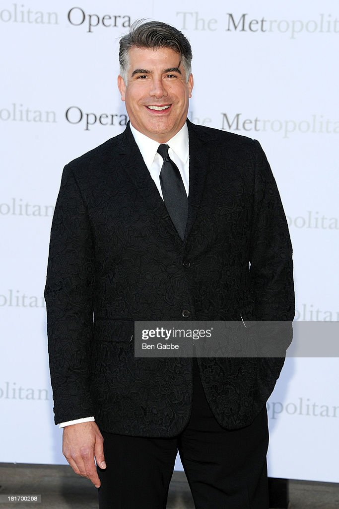 Actor Bryan Batt attends the Metropolitan Opera season opening production of 'Eugene Onegin' at The Metropolitan Opera House on September 23, 2013 in New York City.