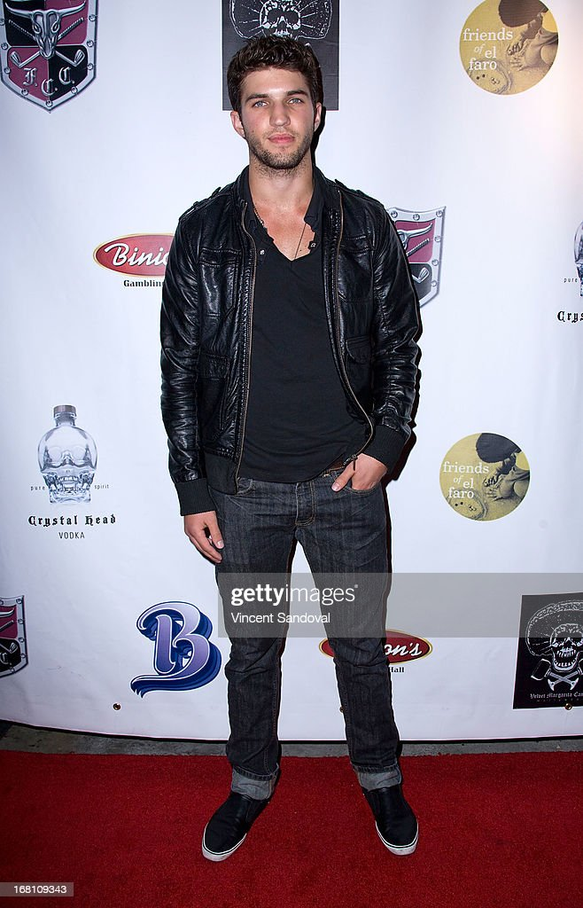 Actor Bryan Craig attends the 10th annual anniversary and Cinco De Mayo benefit with annual Charity Celebrity Poker Tournament at Velvet Margarita on May 4, 2013 in Hollywood, California.