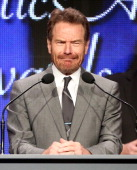 Actor Bryan Cranston accepts the 'Program of the Year' award for 'Breaking Bad' onstage during the 30th Annual Television Critics Association Awards...