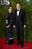 Actor Bryan Cranston and Robin Dearden attend the 2015 Tony Awards at Radio City Music Hall on June 7 2015 in New York City