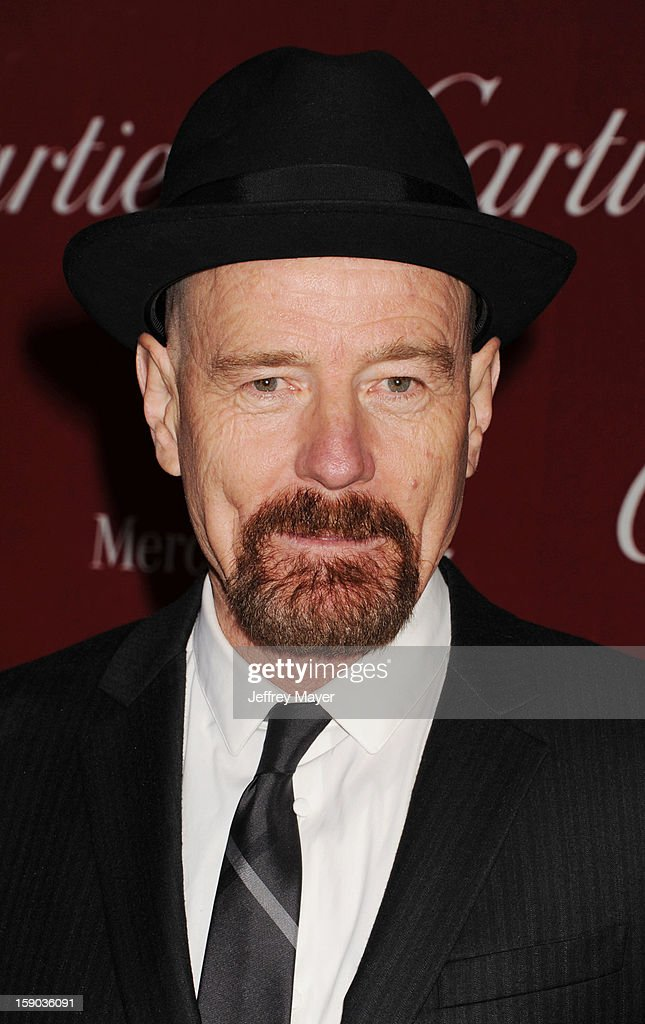 Actor Bryan Cranston arrives at the 24th Annual Palm Springs International Film Festival - Awards Gala at Palm Springs Convention Center on January 5, 2013 in Palm Springs, California.