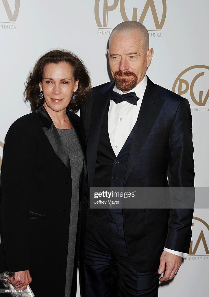 Actor Bryan Cranston arrives at the 24th Annual Producers Guild Awards at The Beverly Hilton Hotel on January 26, 2013 in Beverly Hills, California.