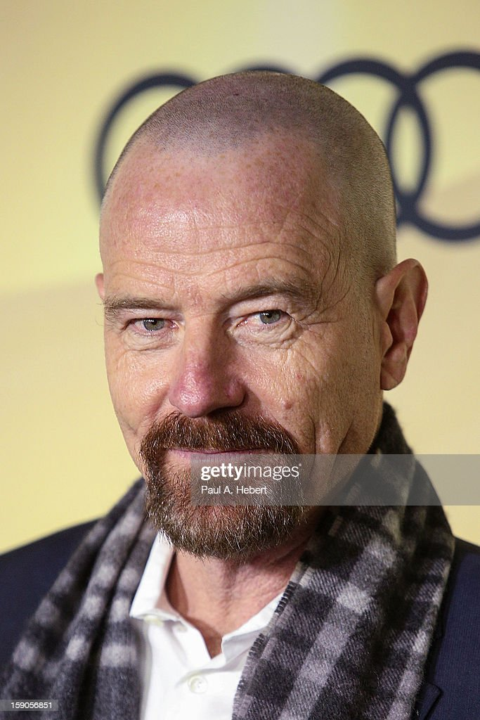 Actor Bryan Cranston arrives at the Audi Golden Globe 2013 Kick Off Party at Cecconi's Restaurant on January 6, 2013 in Los Angeles, California.
