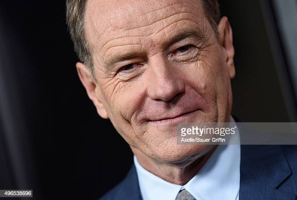 Actor Bryan Cranston arrives at the premiere of Bleecker Street Media's 'Trumbo' at Samuel Goldwyn Theater on October 27 2015 in Beverly Hills...