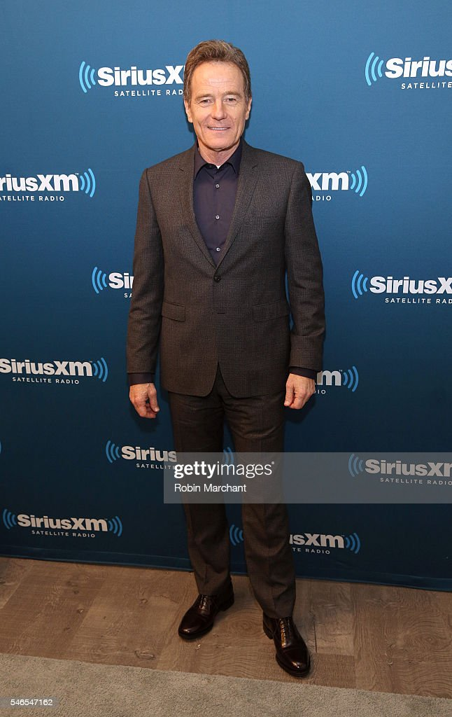 Actor Bryan Cranston at SiriusXM's 'Town Hall' With Bryan Cranston at SiriusXM Studios on July 12 2016 in New York City Town Hall is to air on...
