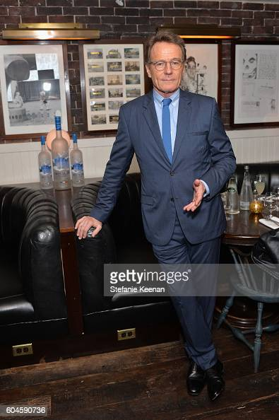 Actor Bryan Cranston at the Wakefield TIFF party hosted by GREY GOOSE Vodka and Soho House Toronto on September 13 2016 in Toronto Canada