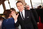 Actor Bryan Cranston attends 20th Annual Screen Actors Guild Awards at The Shrine Auditorium on January 18 2014 in Los Angeles California