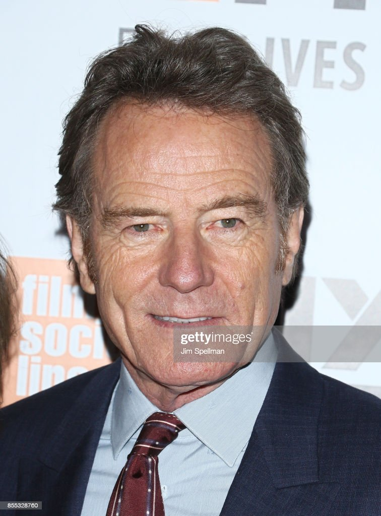 Actor Bryan Cranston attends 55th New York Film Festival opening night premiere of 'Last Flag Flying' at Alice Tully Hall, Lincoln Center on September 28, 2017 in New York City.
